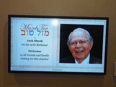 Jack Shenk - Happy 90th Birthday!