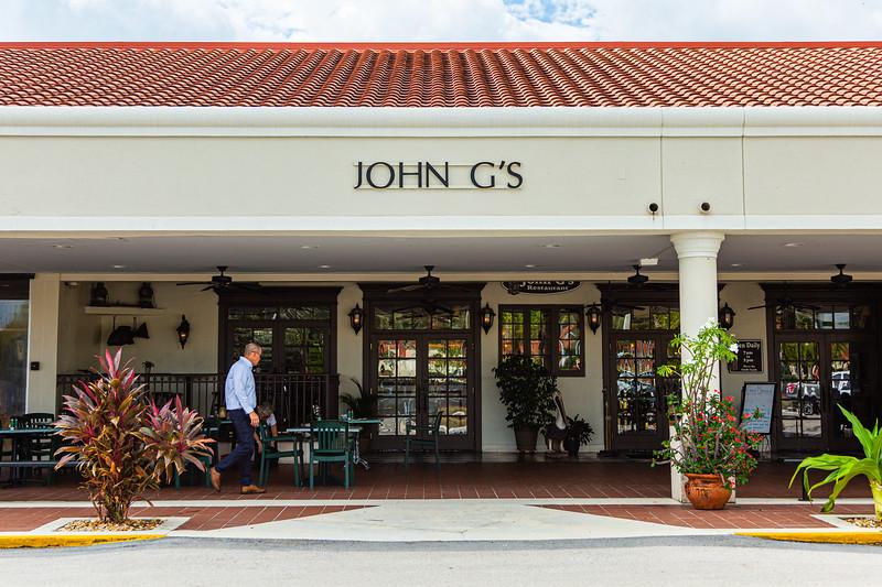 John G's Restaurant, Manalapan, Florida, October 9, 2019. [JOSEPH FORZANO/palmbeachpost.com]