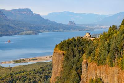 Vista House @ Columbia River Gorge