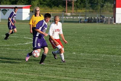 Boys JV Soccer - 2010-2011 - 8/30/2010 Shelby