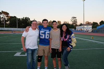 SMHS Honors Its Seniors at Football Game