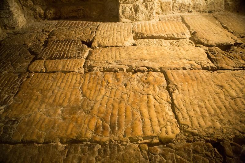 Stone Floor in Antonio Fortress
