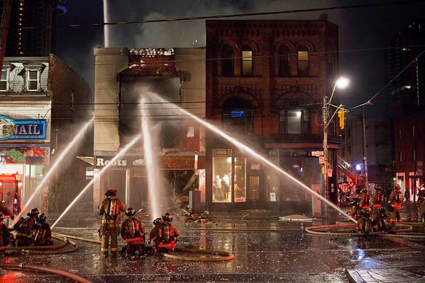 October 30, 2012 - 3rd Alarm - 369 Queen St. West