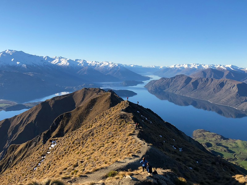 Roys Peak Selfier-ers and Watchers.jpeg