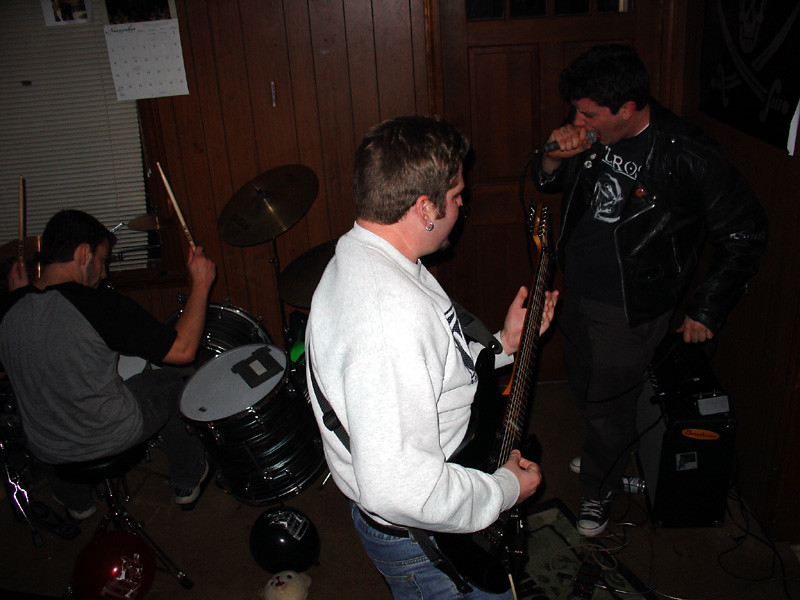 Now Andy, Rory, and Jeff rock out
