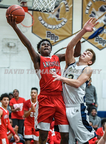 Bayport vs Amityville Boys Basketball 2018