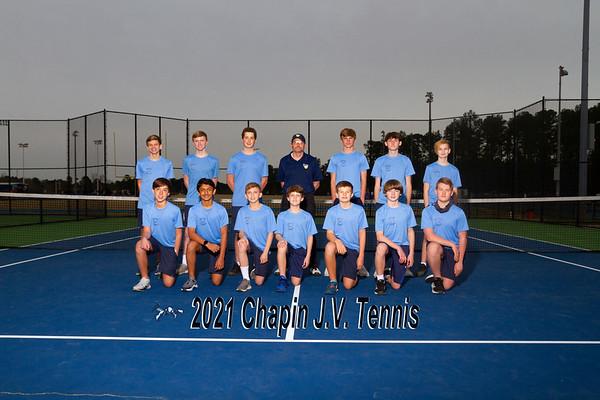2021 Boys Tennis JV