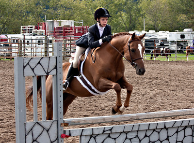 4H District Horse Show 09/17/11 Working Hunter Ponies