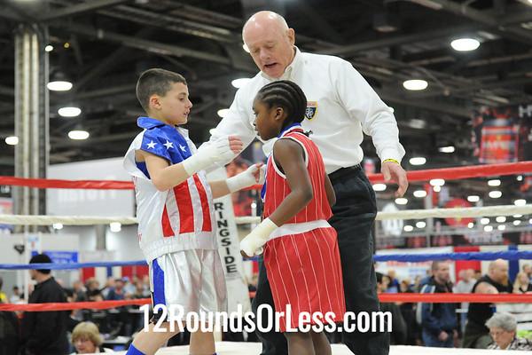 Bout 13=V Mielnicki(Roseland, NJ) -vs- T Jackson(Cleveland, OH)