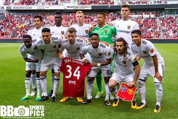 RSL vs Manchester United •07-17-2017