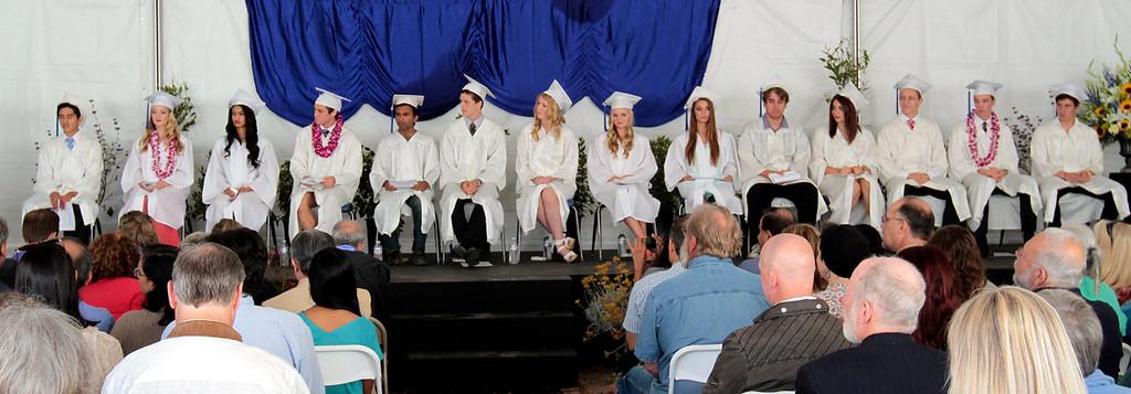 . Mount Madonna School\'s graduation was June 13, 2013. (Shmuel Thaler/Sentinel)