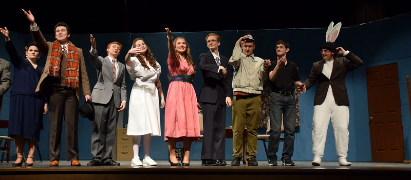 Wachusett HS- Harvey Play, Nov. 2015