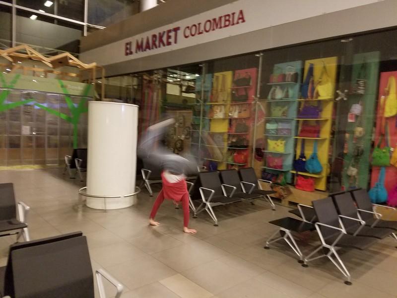 Andres Calderon - Airport - Bogota, Colombia