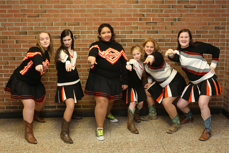 2016 Towanda Wrestling Cheerleaders