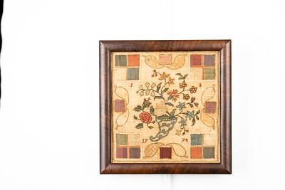 210224 Antique Cross Stitch Samplers