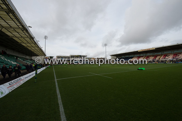 Northampton Saints vs Harlequins, LV= Cup, Franklin's Gardens, 10 November 2012