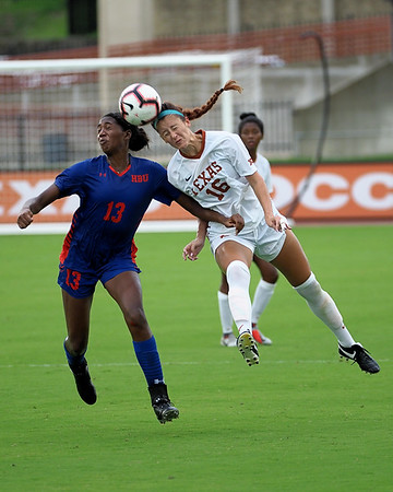 University of Texas Soccer vs. Houston Baptist 9.9.2018
