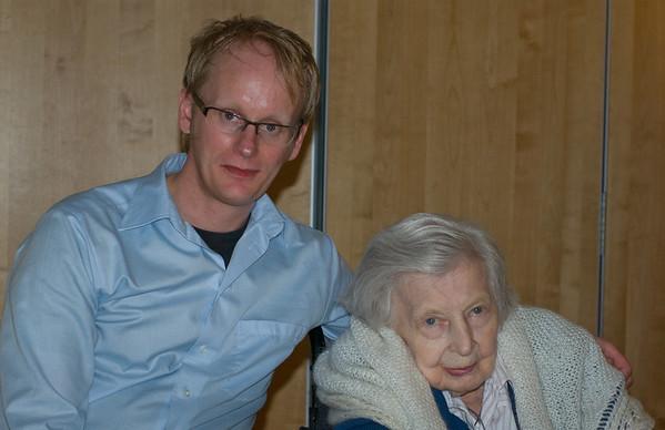 Britta 93 år 2010