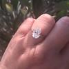 2.13ct Antique Pear Shape Diamond, GIA I, VS2 32