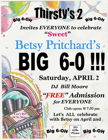Betsy Pritchard Birthday 2016