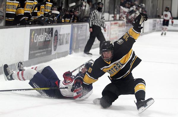 Hockey: TC Central at Bay Reps, Feb. 17, 2021