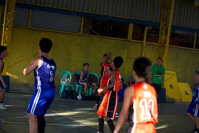 Grade School Basketball SFAMSC vs FCS 2012
