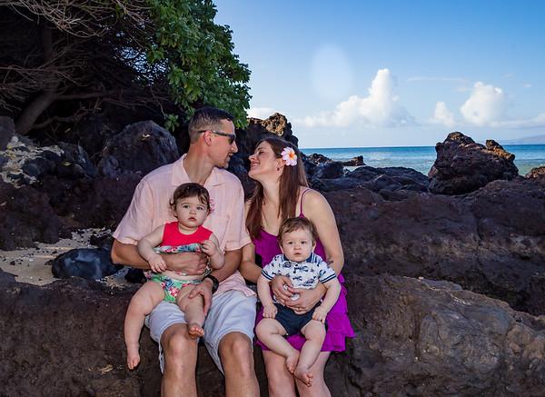 Karen, Matthew and family