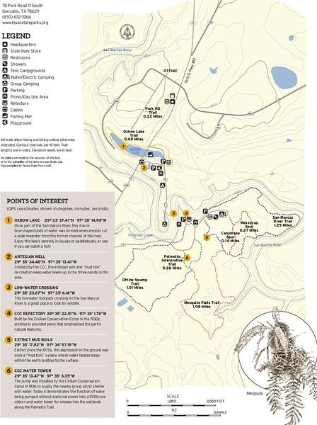 Palmetto State Park (Trails)
