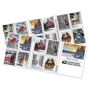 USPS Stamps 2020 Winter Scenes