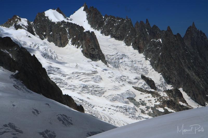 Glacier Valle blanche