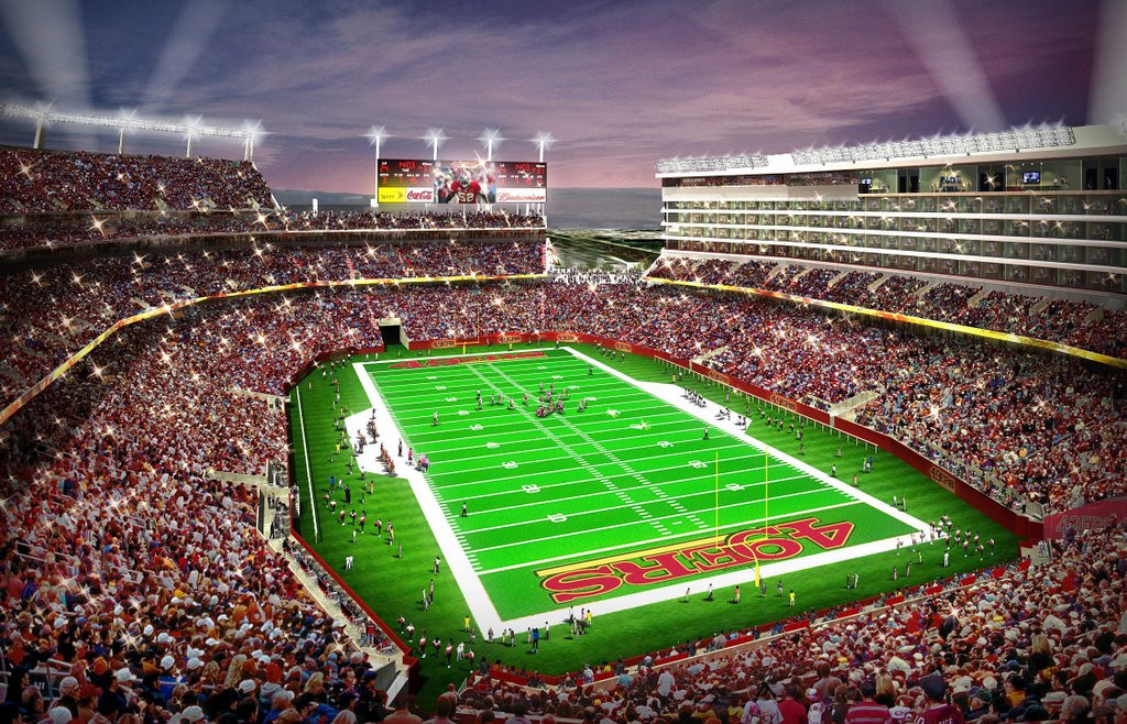 . <p><b>49ers at Buccaneers (+5½):</b> <p>The lack of sufficient parking at the 49ers� new stadium in Santa Clara could block the team from hosting any weekday night games starting next season. Tampa Bay also will see its prime time appearances limited, mostly because of the Bucs� suckiness. <p>Pick: <b>49ers by 7</b> <p>    (AP Photo/San Francisco 49ers)