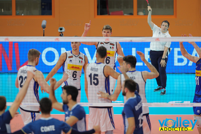 Italia 1 - Argentina 3 Volley Nations League Men 2019 Allianz Cloud, Milano, 22/06/2019