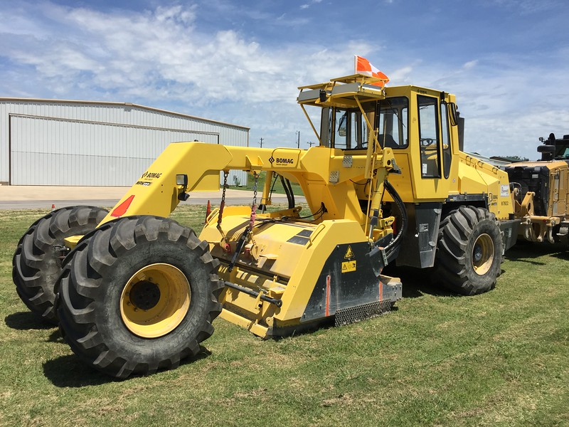 This is the machine that will chew up the old runway starting 8/1