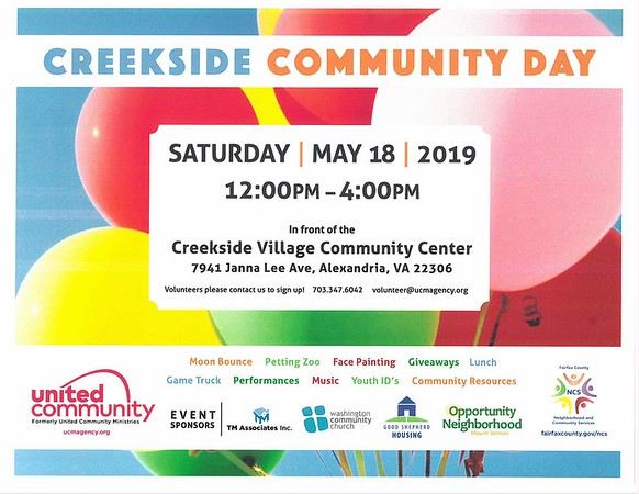 Creekside Village Community Day 2019