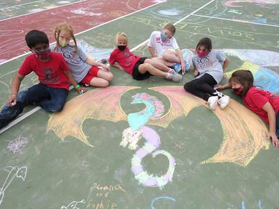 LS Chalk Art 6-9-21