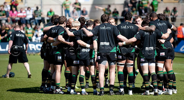 Northampton Saints vs Gloucester, Guinness Premiership, Franklin's Gardens, 17 April 2010