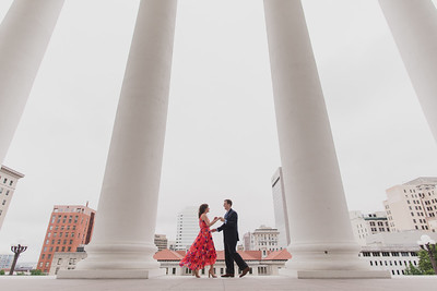 Cindy + Harrison // Virginia Capitol in Richmond, VA