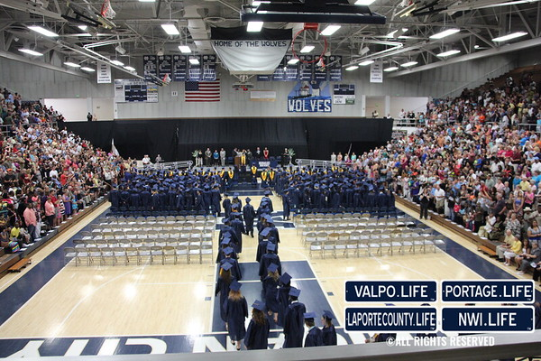 Michigan City High School Graduation 2013
