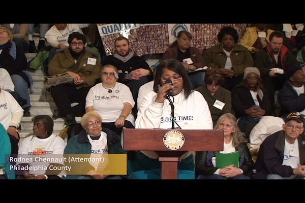 United Home care Workers of PA (Video)