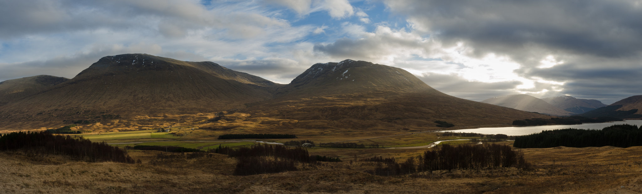 Loch Tulla and Beinn Achaladair - Driving the NC500 in winter