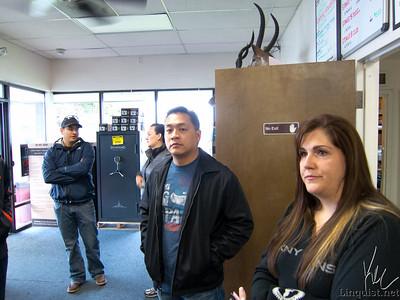 2011-11-20 Gun Range and Aleks's BBQ