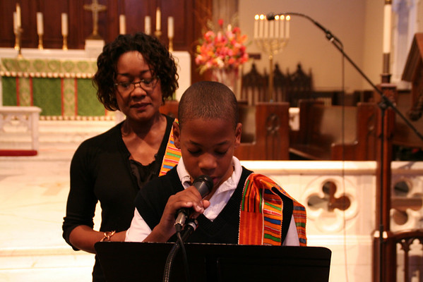 African American History Month Chapel Service 2-4-09