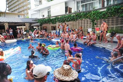 Honolulu Pride Pool Party 2017