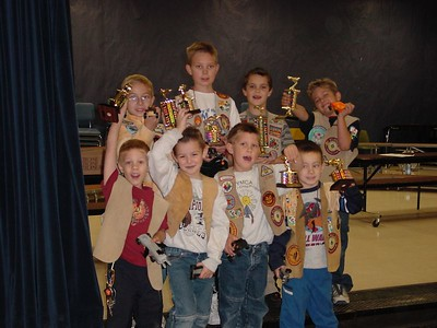 Pinewood Derby - Dec 14, 2002 - Navajo