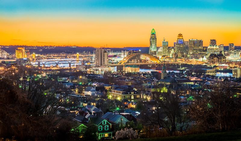 Cincinnati and Bellvue KY