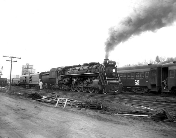 CN 6218 late 1960s excursion(s) - photos by Tad Arnold