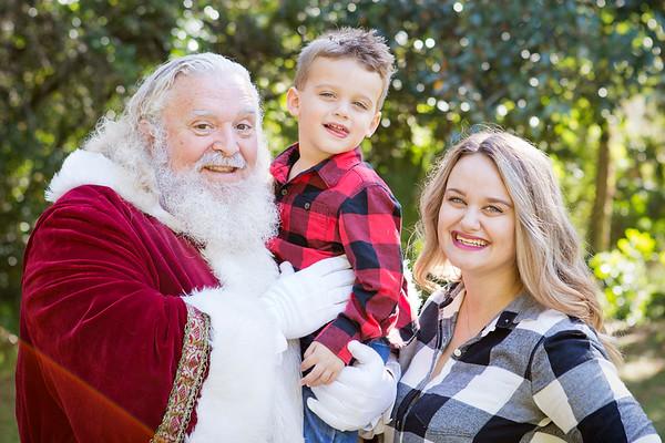 Santa Minis 2018: Phalicia and Brennan!