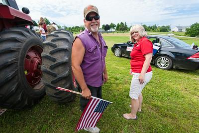 Parade, Attica, Michigan - 7-12-2014