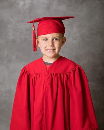 SVES Kindergarten Grad School Pictures