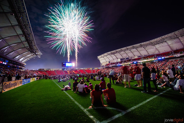 RSL 4th of July Game and Fireworks